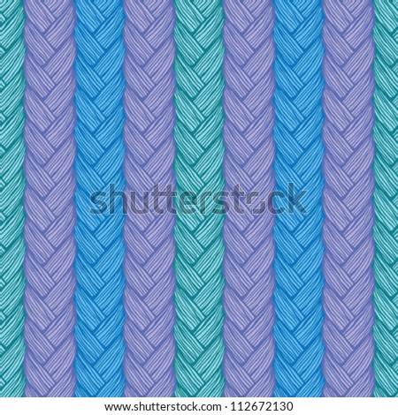 Colorful knitted pattern