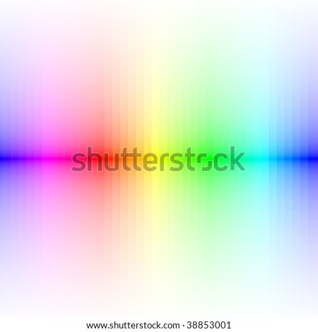 colorful lines, vector blur effect