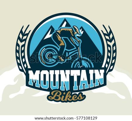 colorful logo  emblem  label