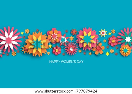 colorful 8 march happy women s