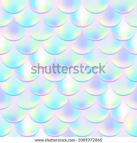 colorful mermaid vector