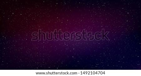colorful milky way galaxy