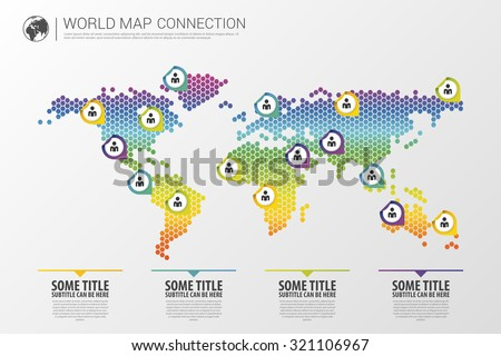 colorful modern infographic