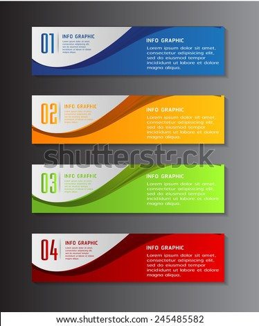 Colorful banner template 123freevectors - Text banner design ...