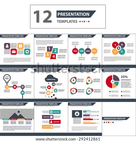 Free business powerpoint templates pack 01 download free vector colorful multipurpose multicolor presentation template brochure flyer flat design set toneelgroepblik Image collections