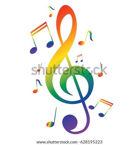royalty free abstract music notes design for music 79909741 stock rh avopix com Music Notes Background Music Notes Graphics
