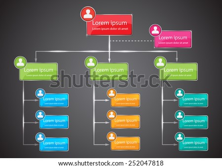 Free Organizational Chart Vectors  Download Free Vector Art Stock
