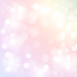 Colorful pastel background with defocused lights - eps10