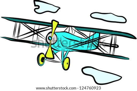 colorful plane
