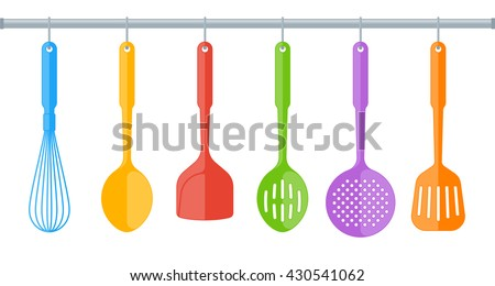 Restaurant Kitchen Utensils free kitchen utensils vector - download free vector art, stock