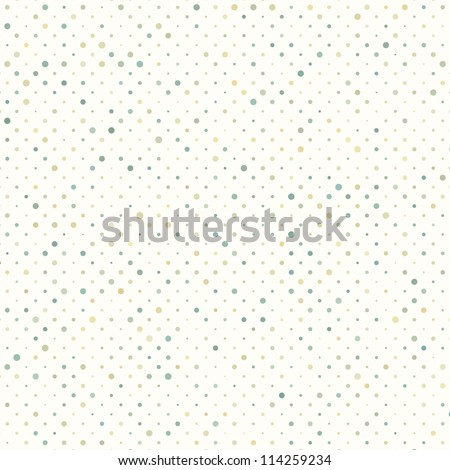 Colorful polka dot pattern. And also includes EPS 8 vector