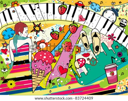 Colorful Pop Art Modern