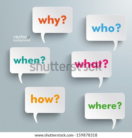 colorful questions speech paper
