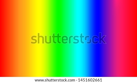 Colorful rainbow gradient background. Abstract vector illustration.
