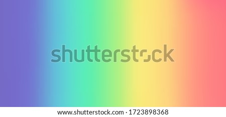 Colorful Rainbow Gradient Background - Vector