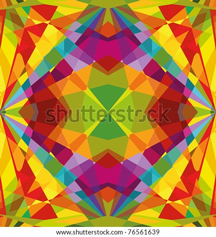 Colorful repeating abstract - background