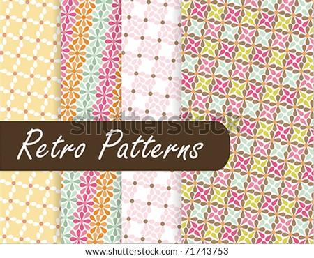 Colorful Retro Patterns