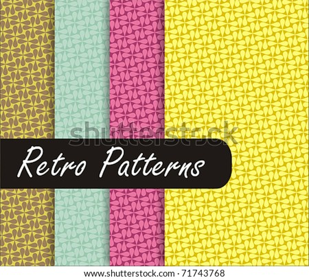 Colorful Retro Patterns
