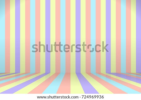 colorful room background scene