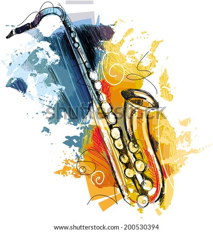 Colorful Sax
