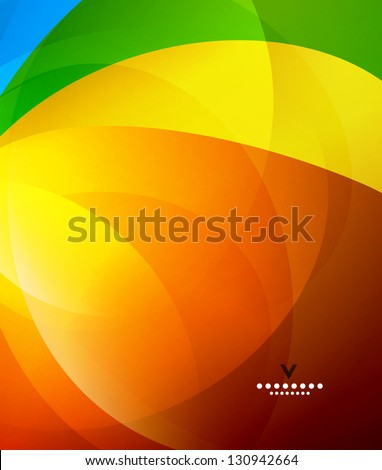 colorful shiny abstract design