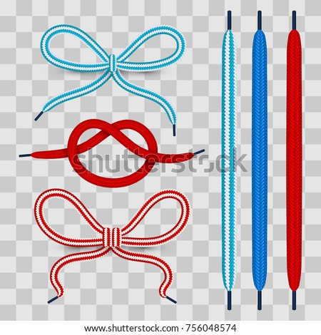 colorful shoelace for footwear...
