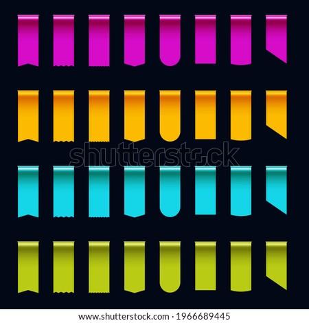 colorful silk tape ribbon edge