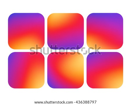 colorful smooth gradient color
