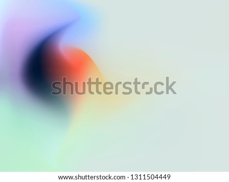Colorful smooth gradient color Background Wallpaper. EPS 10.