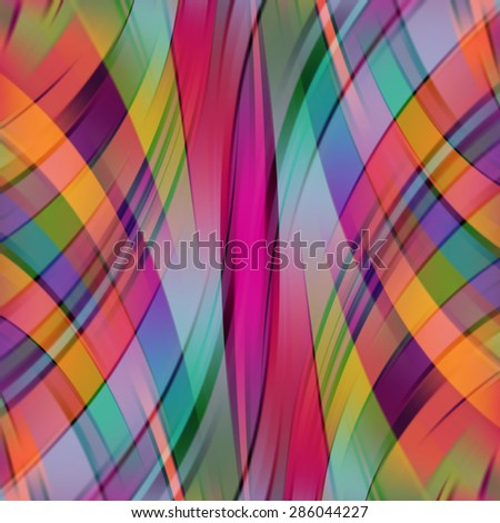 colorful smooth light lines