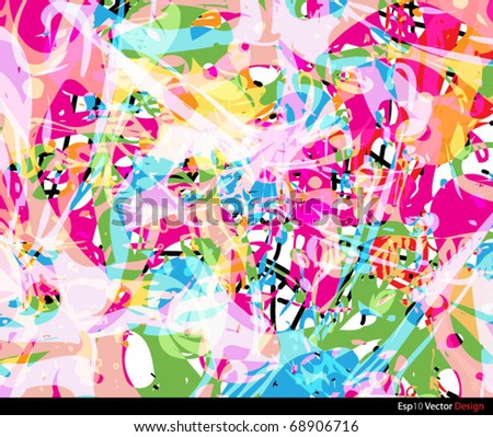 colorful smudge background