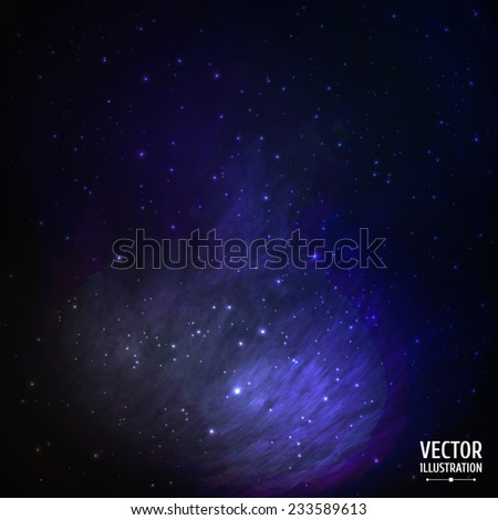colorful space galaxy
