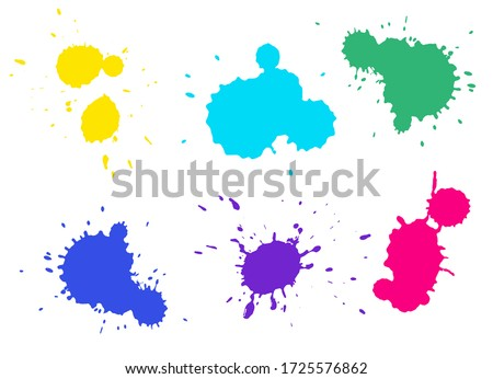colorful splashes collection