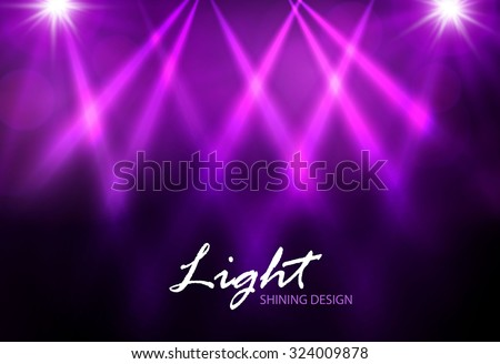 Colorful spotlight design. Vector illustration