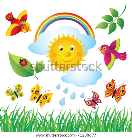 Colorful Spring Set