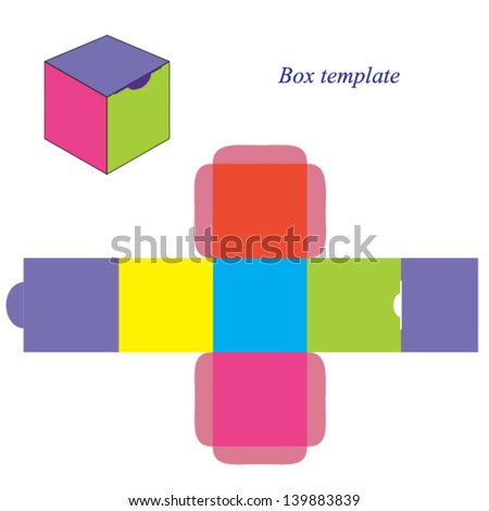 vector images illustrations and cliparts colorful square box
