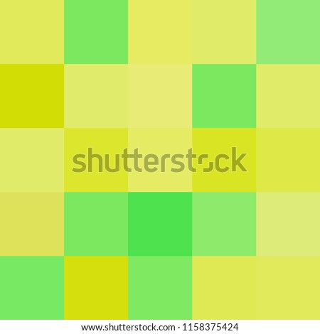 Stock Photo colorful squares colors yellow, block soft pastel bright green color, colorful checkered pattern multi color rainbow, colorful cubes square polygon mosaic, green squares rainbow colorful (vector)