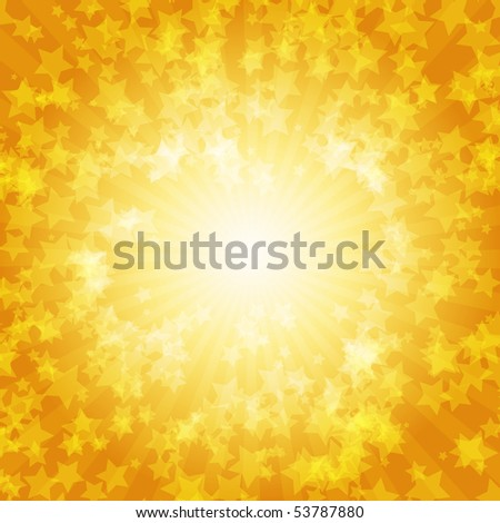 Colorful stars vector background
