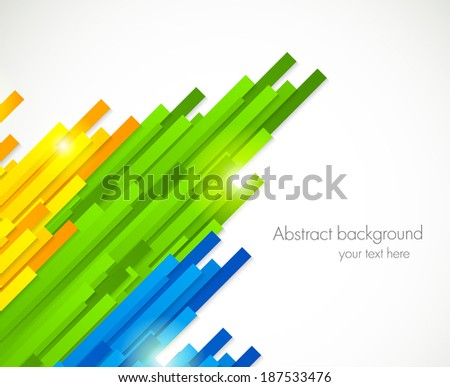 colorful straight lines design