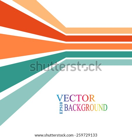 colorful stripes with 3 d