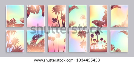 colorful summer banners