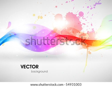 Colorful surface. Vector abstract background