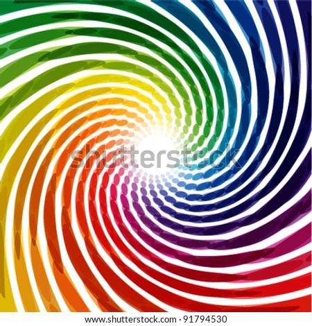colorful swirl background illustration