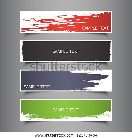 Colorful Tag, Label, Banner Designs