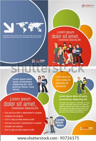 Teen mod le images for Student brochure template