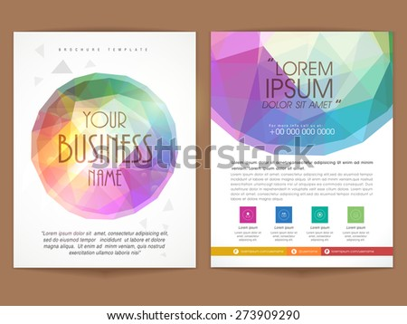 Creative Brochure Flyer Template Design For Your Brand Download