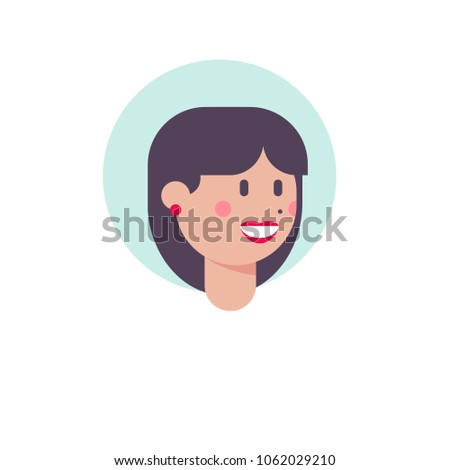 colorful vector avatar of