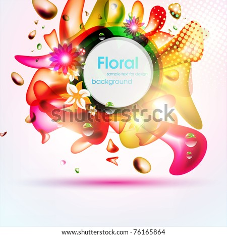 Colorful Vector Bubbles Design Eps 10