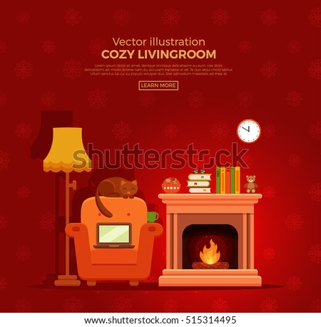 colorful vector cozy warm