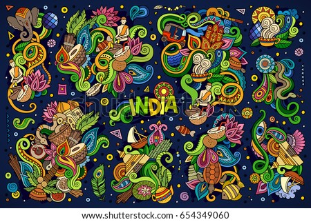 India Doodle Icons Download Free Vector Art Stock Graphics Images